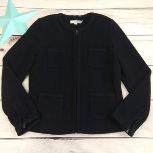 Boden size US 6 Brompton Blazer in solid black